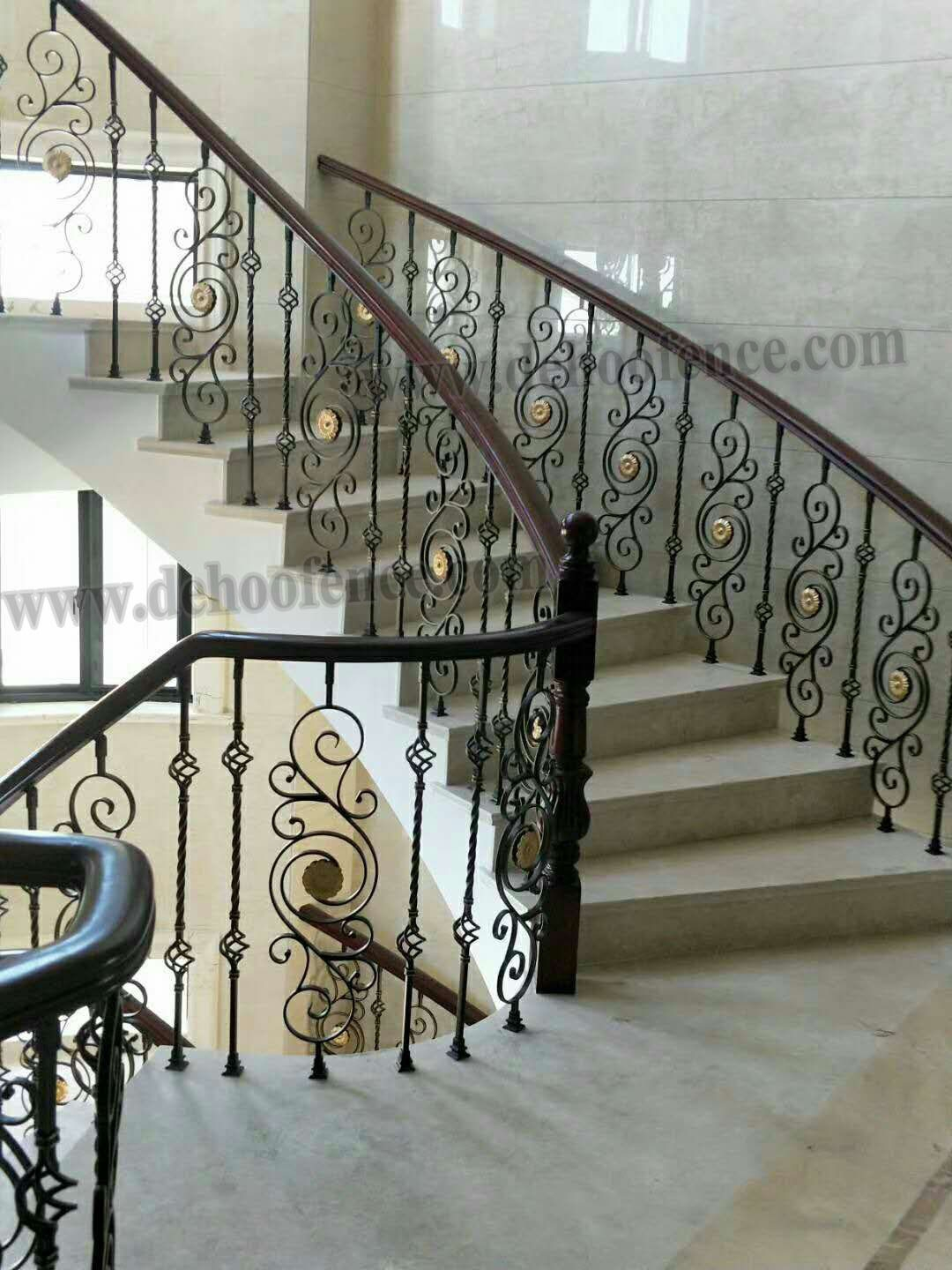 China Architectual Wrought Iron Baluster For Ornamental Iron | Wrought Iron Baluster Designs | Rot Iron Staircase | Rod Iron | Metal Rail | Stair Railing | Replacement