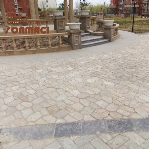 china natural slate flagstone patio