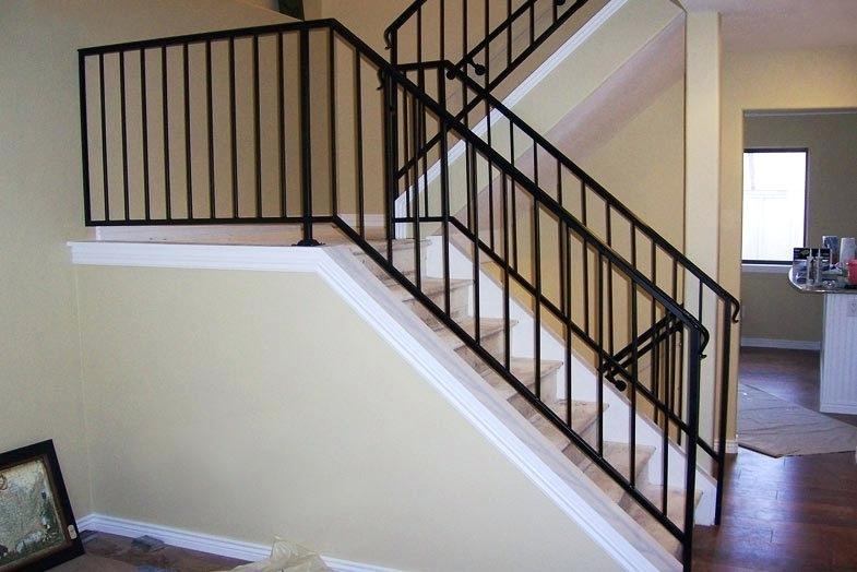 China Wrought Iron Decorative Handrails For Home Or Garden Stairs | Decorative Handrails For Stairs | Main Entrance | Solid Wood | Different Style | Elegant | Steel Pipe