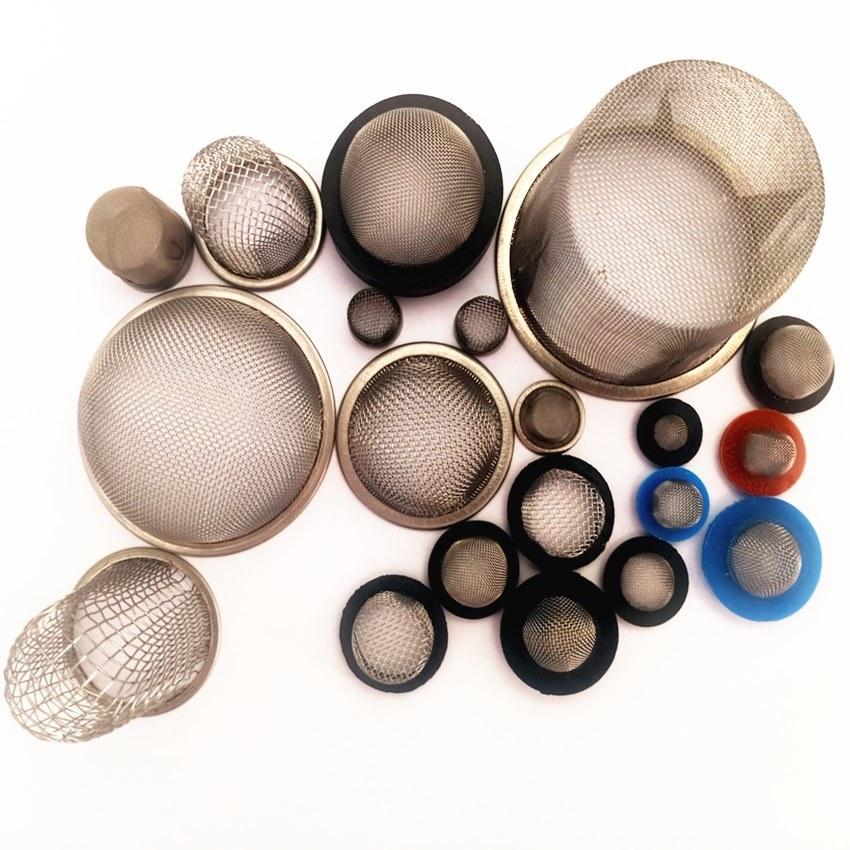 hot item ss 304 garden hose washer sink drain strainer tap water bottle stainless steel wire mesh filter cap