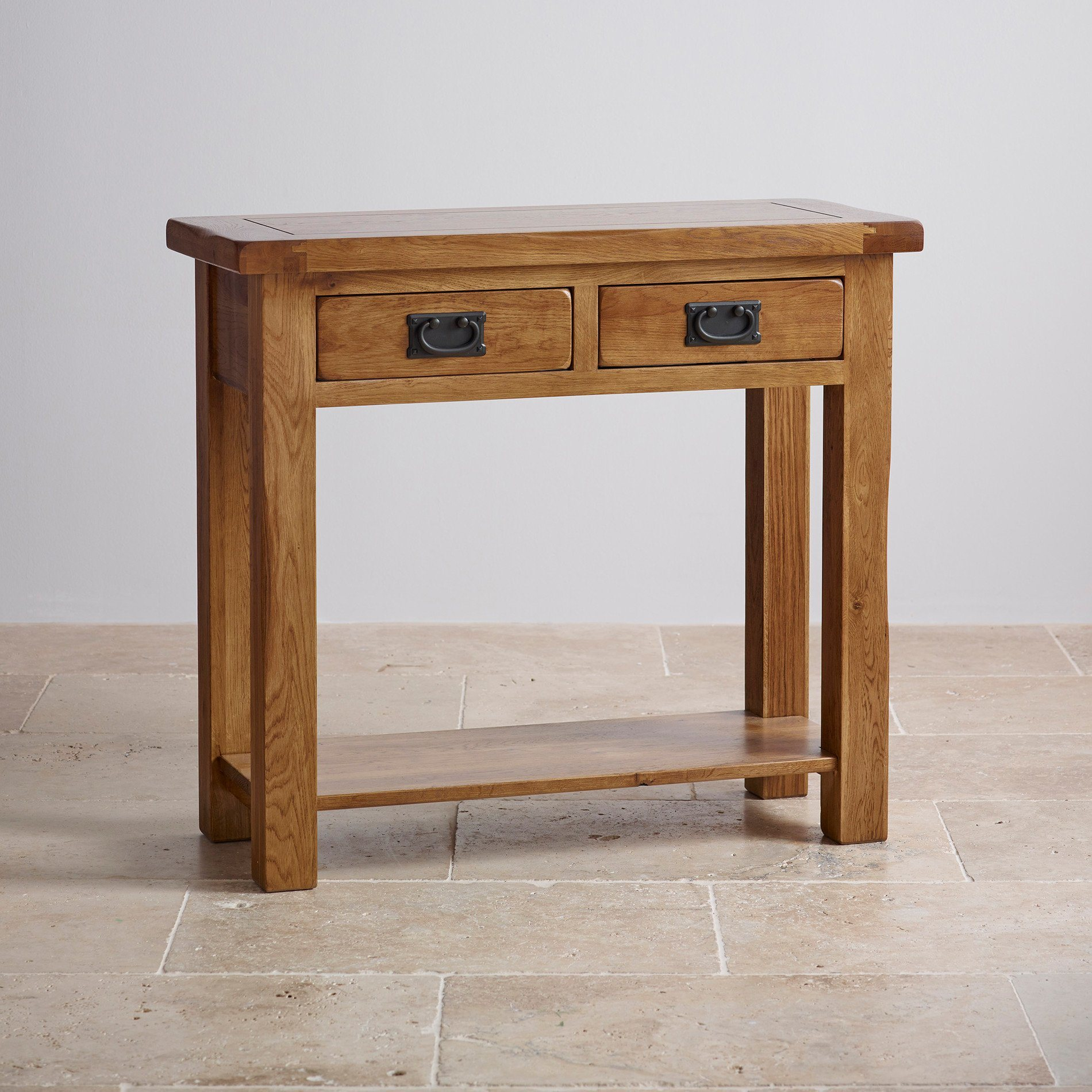China Rustic Vintage Oak Solid Wood Console Table China Furniture Antique