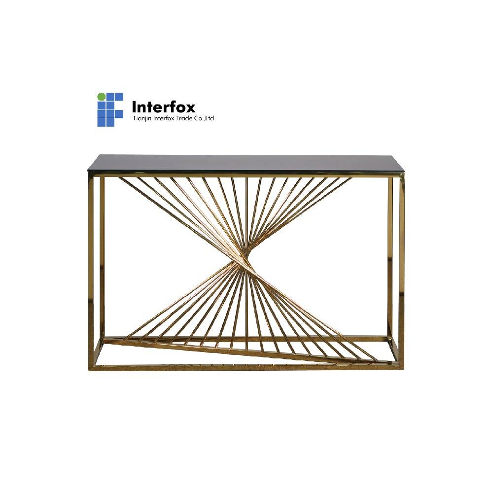hot item hot selling living room furniture center table modern metal wire coffee table design