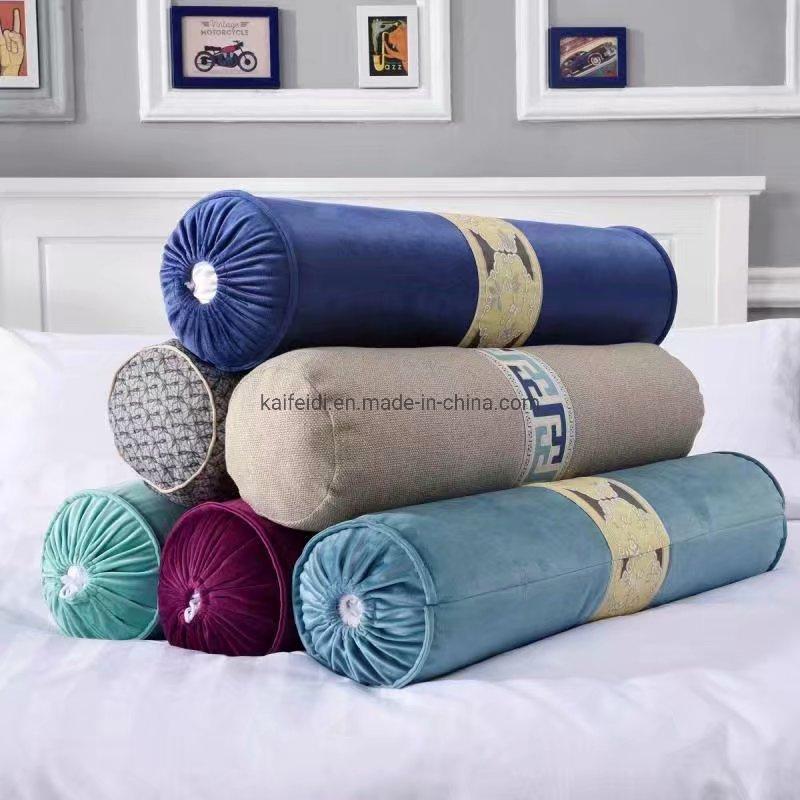 china velvet hotel decorative cushion