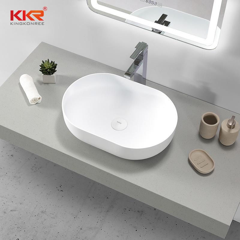 hot item european oval wash basin acrylic solid surface stone bathroom sink
