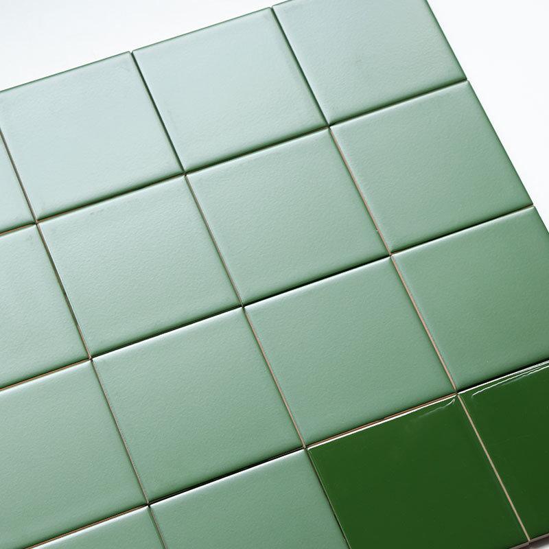 hot item multi specification home decor dark green design glazed ceramic wall tiles