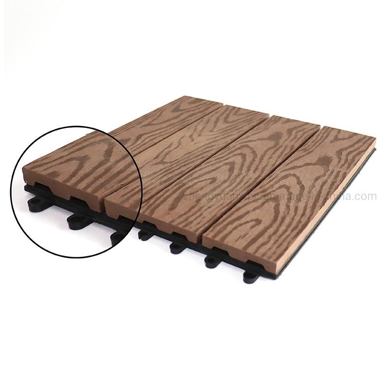 wood plastic composite tiles