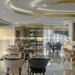 China Hotel Coffee Shop Contemporary Style Luxury Style Restaurant Furniture Set China Lobby Furniture 5 Star Hotel Furniture