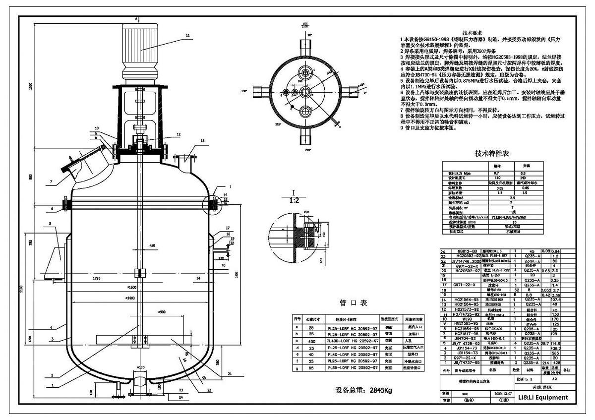 Pressure Tank Design