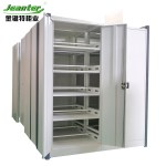 Hot Item Heavy Duty Logistic Industry Mobile Mass Shelving