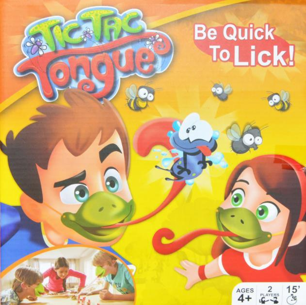China Competitive Chameleon Quick Tongue Out Interactive Fun Board Games China Board Game And Custom Family Game Price