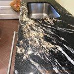 China Natural Black Cosmic Granite Countertops For Kitchen China Granite Granite Countertops