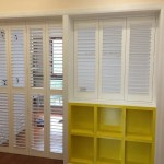 Hot Item Rich Experience White Basswood Window Plantation Shutters