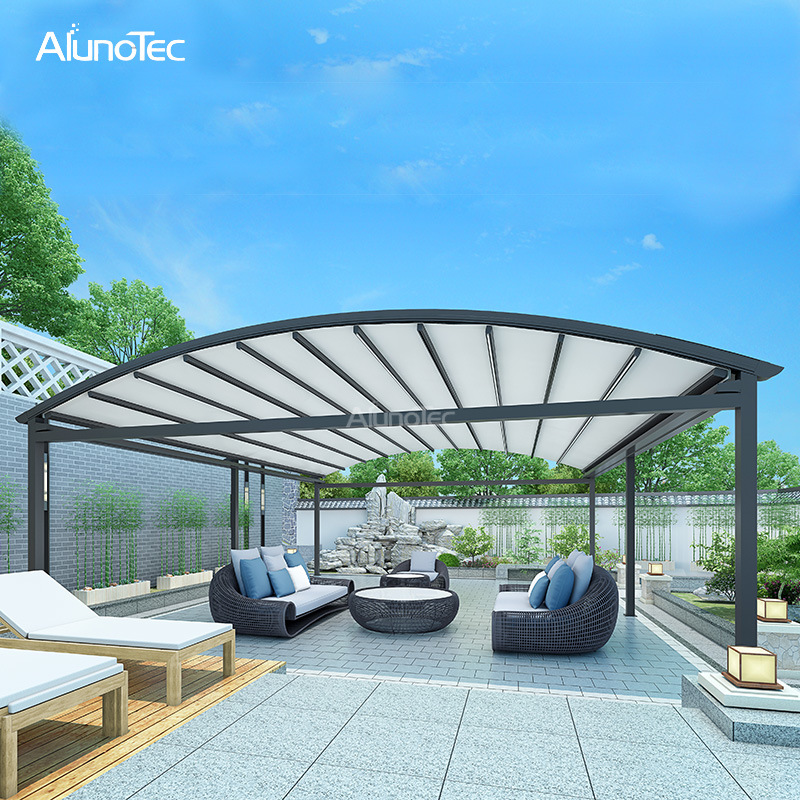 china customized outdoor deck roof