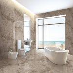 China Italian Grey Marble Look Glazed Polished Porcelain Floor Tiles China Glazed Tile Marble Look Tile