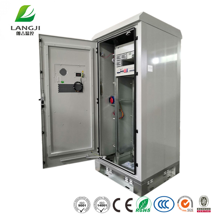 hot item outdoor equipment server rack telecom cabinet with 1500w ac cooling