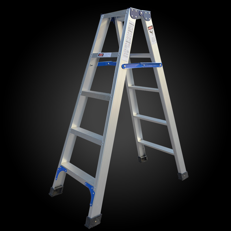 China Portable House Step Ladder 2 Two Sided Folding Lightweight Aluminum Step Ladder China 2 Two Sided Folding Ladder And Lightweight Step Ladder Price