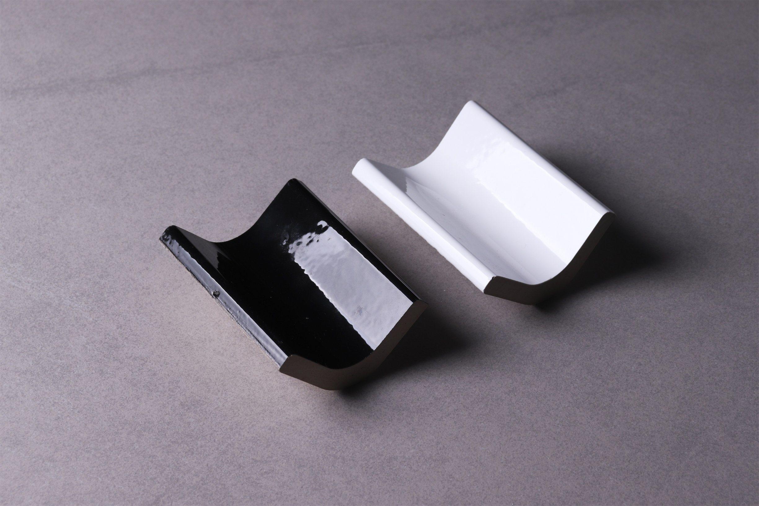 hot item jla black ceramic tile cove base inside corner tile strip trim boeder tiles brick tile accessories