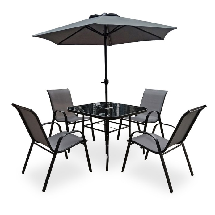 Modern Outdoor Patio Furniture 4 Seater Cushion Dining Set China Garden Chair Modern Furniture Made In China Com