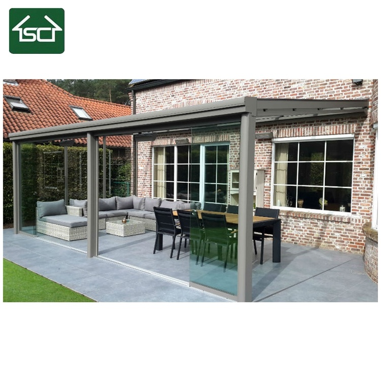 clear plastic patio cover