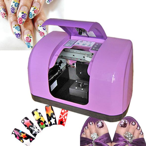 2016 Hot Metic Nail Printing Machine Diy Flower Art Printer