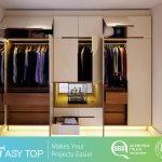 Cloth Wardrobe Organizer Bedroom Cupboards Wooden Almirah Designs In Bedroom Wall China Closet Robe Made In China Com