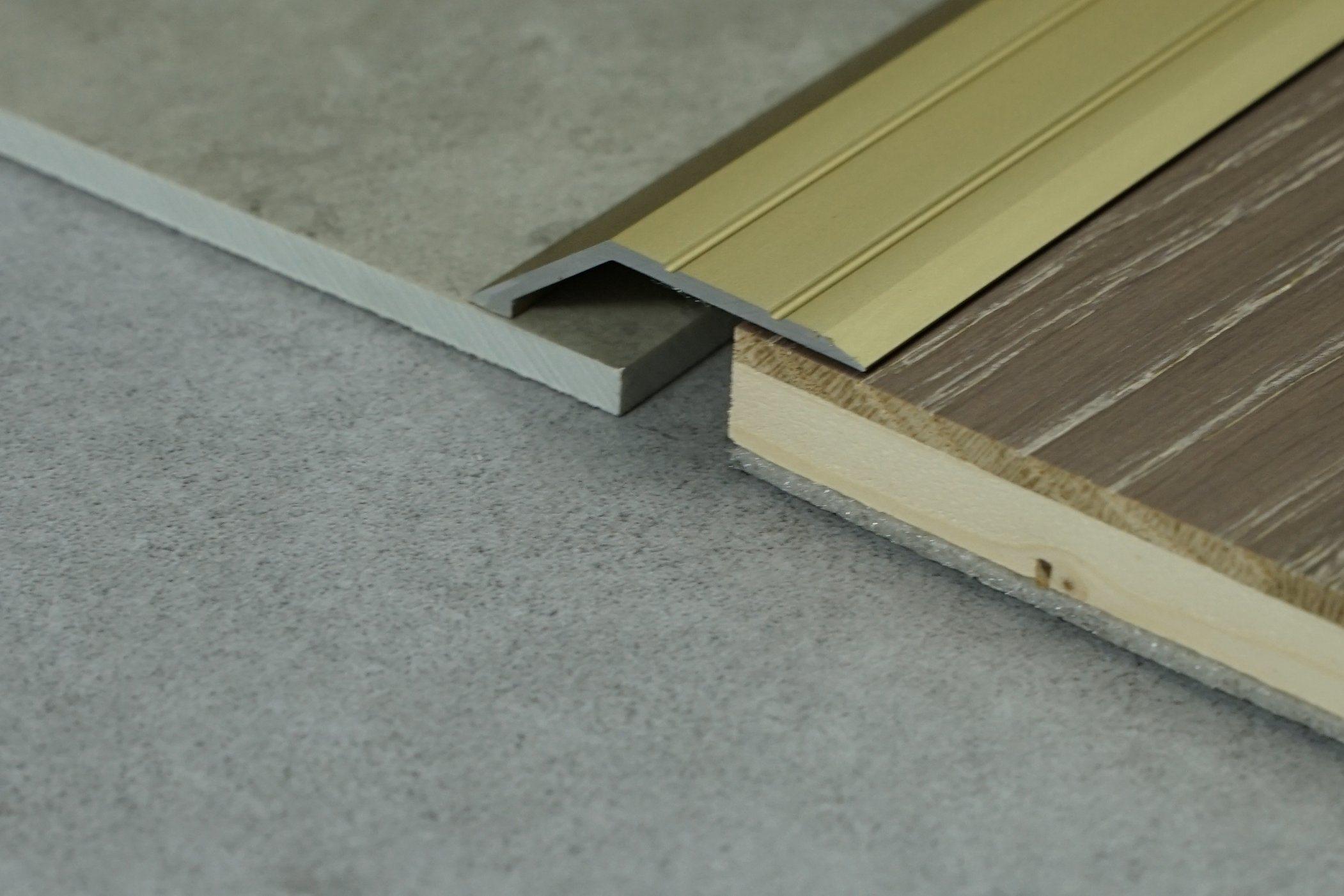 hot item tile trim aluminum edge laminate flooring aluminum transition strips for dance floor trim