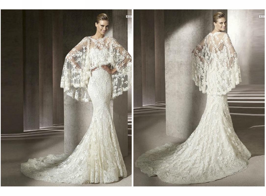China 2012 Fall Elegant Mermaid Style Lace Wedding Dresses