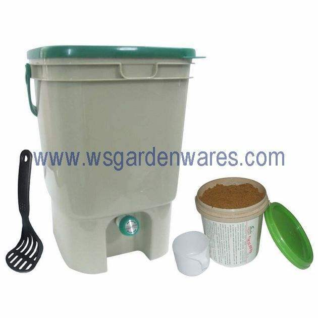 China Kitchen Compost Bucket Packed Bokashi Bran