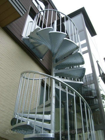 China Hot Dipping Galvanized Spiral Staircase Outside Stairs   Outer Stairs Design For House   Residential   India Home   Upstairs   Garden   Bloxburg