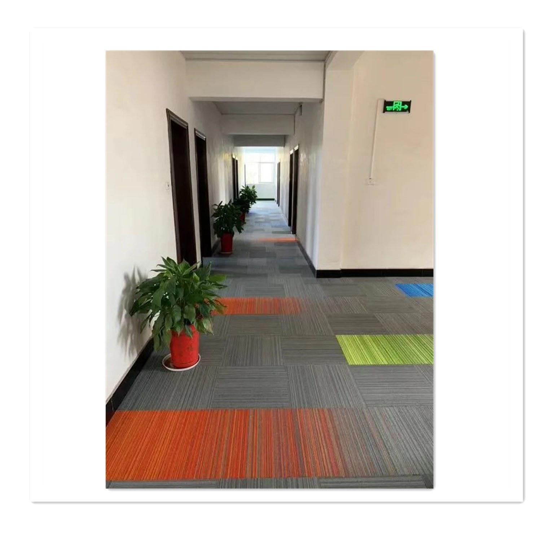 hot item china tufted loop pile carpet tile home depot pp stripe carpet tiles for home residential flooring