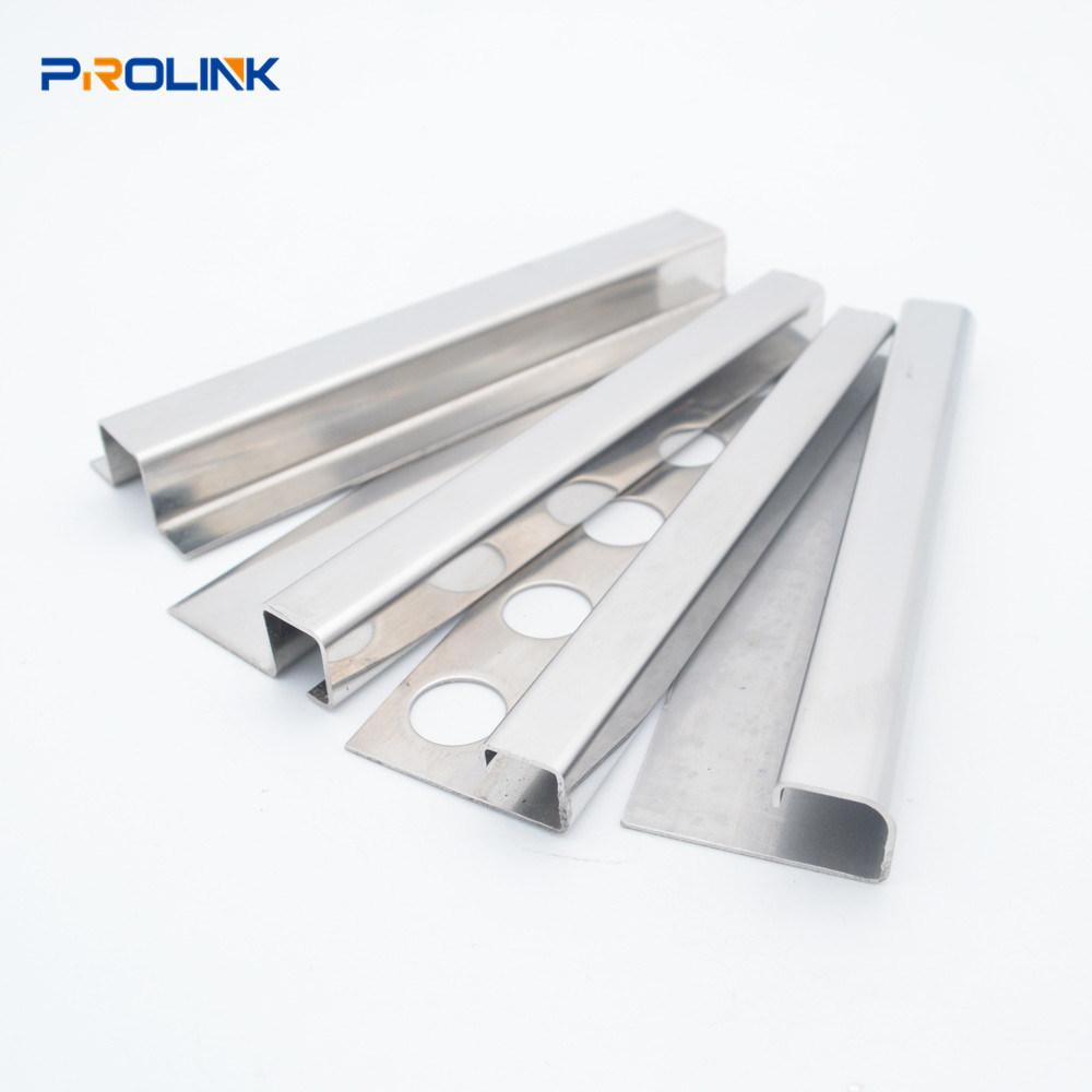 shape tile trim decorative metal strip