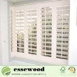 China Movable Wooden Shutter Windows Interior Plantation