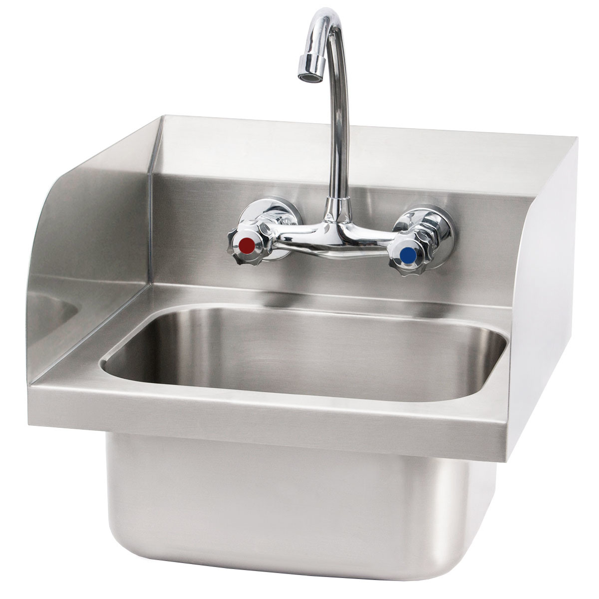 hot item commercial stainless steel wall mount hand sink washing basin hand sink