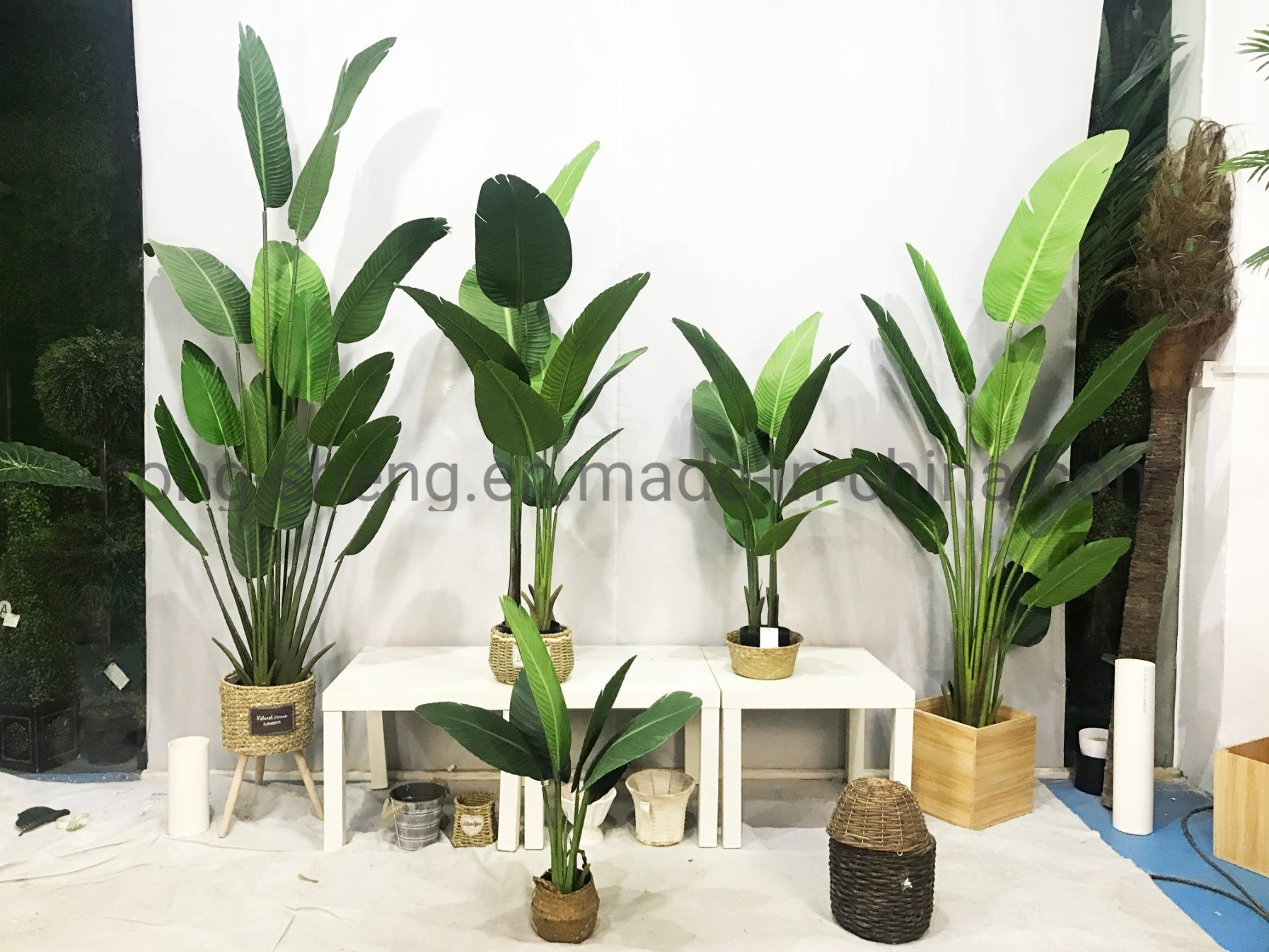 China Simulation Traveler Banana Tree Potted Crafts Decorations Realistic Artificial Plants China Artificial Plant And Artificial Flowers Price