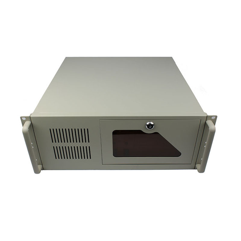 hot item 4u ipc rackmount case 19 inch industrial server chassis for atx mb