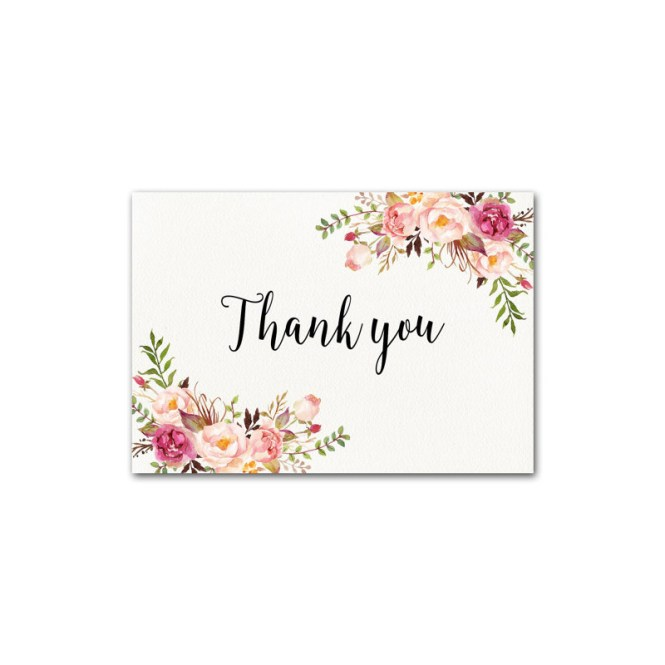 Hot Item Handmade Wedding Invitation Card Thank You