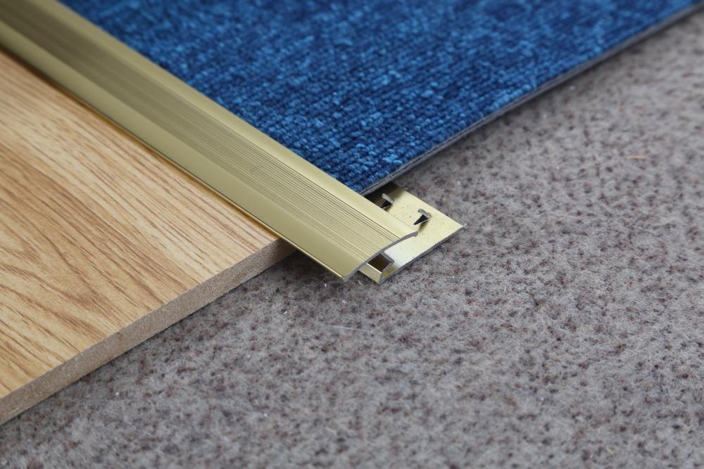 hot item ceramic tile to carpet transition strip aluminum metal carpet trim
