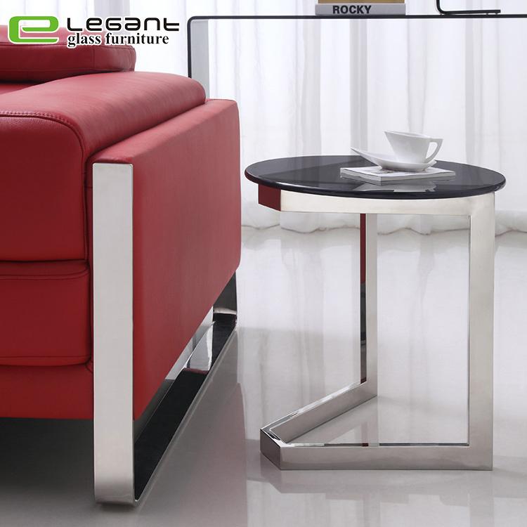 china furniture top black glass side