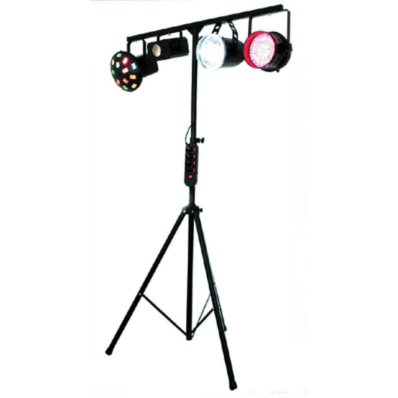 China Led Stage Lighting System All In 1 Moonflower Strobe