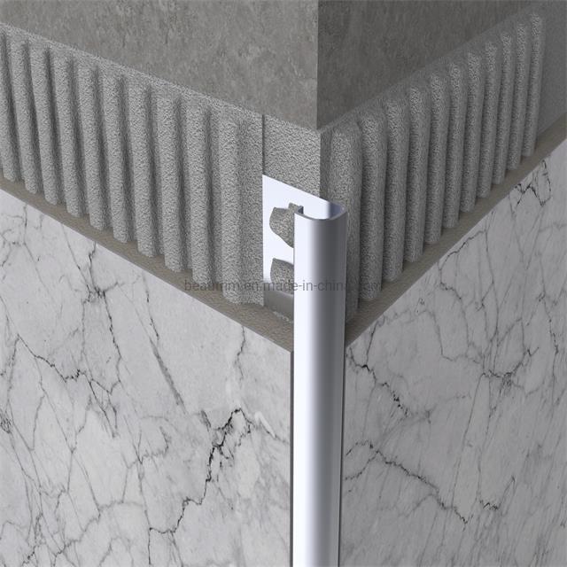 hot item aluminium round edge tile trim