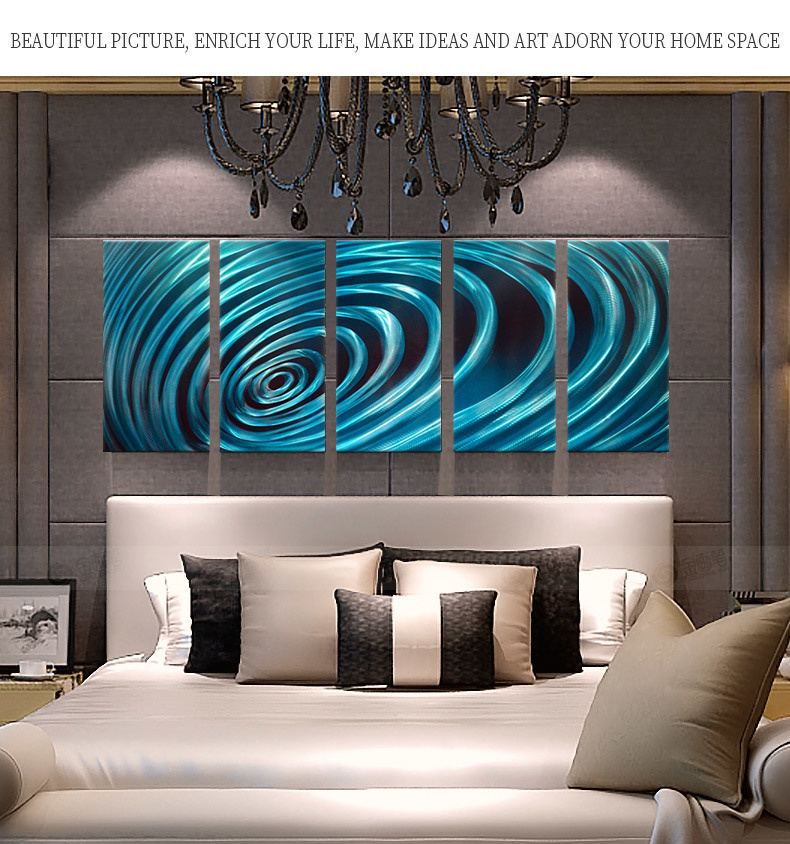 China Modern Hand Etched Metal Abstract Wall Art Home Decor Home Accent Contemporary Metallic Wall Sculpture 24 X 64 Photos Pictures Made In China Com