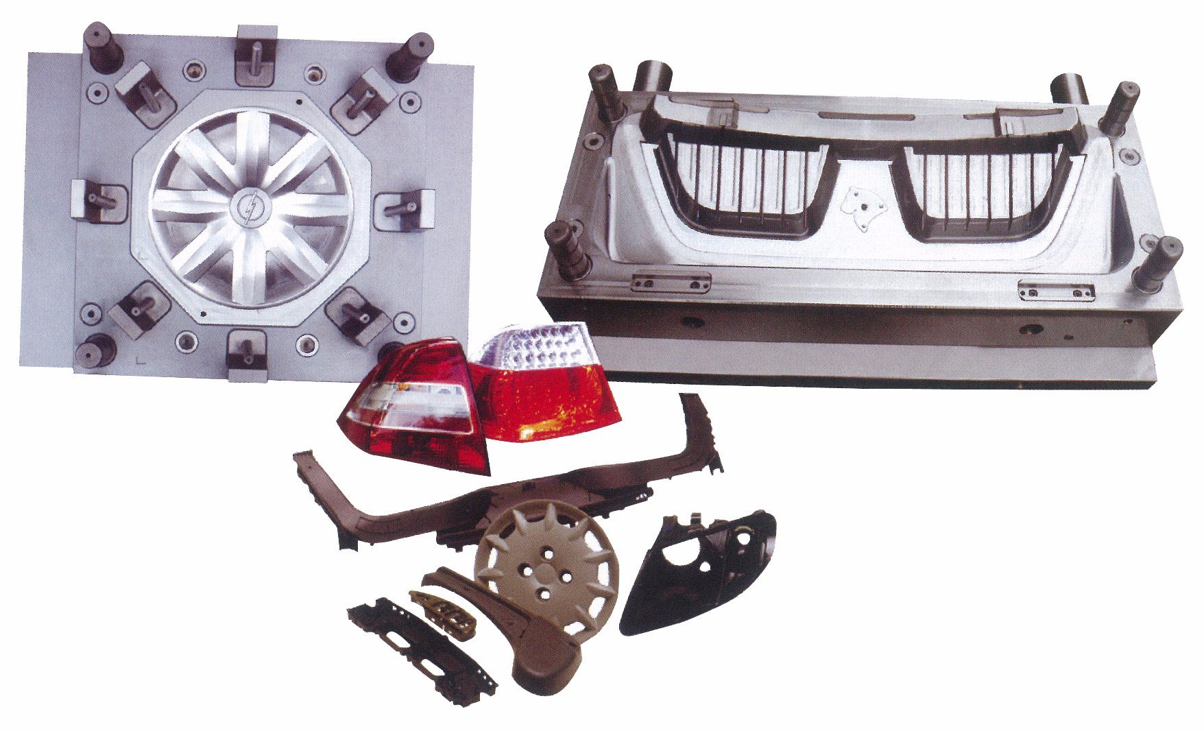 China Plastic Car Instrument Panel Injection Mold
