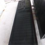 China Natural Stone Polished Absolute Black Granite Tile For Floor Countertop Vanity Top Bathroom China Absolute Black Granite Tile Absolute Black Granite