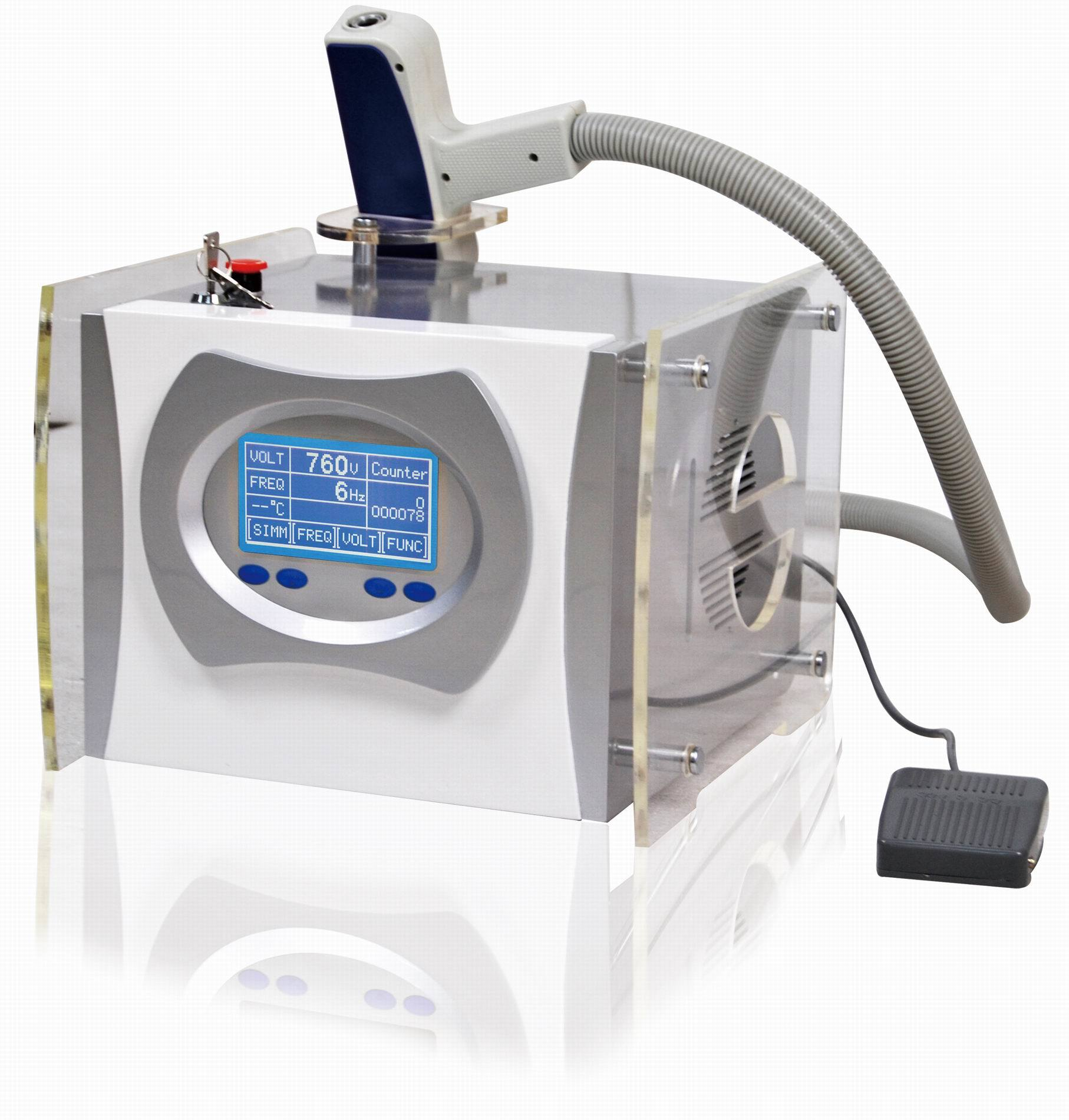 China Q-Switched ND YAG Laser Tattoo Removal Machine (A8 ...