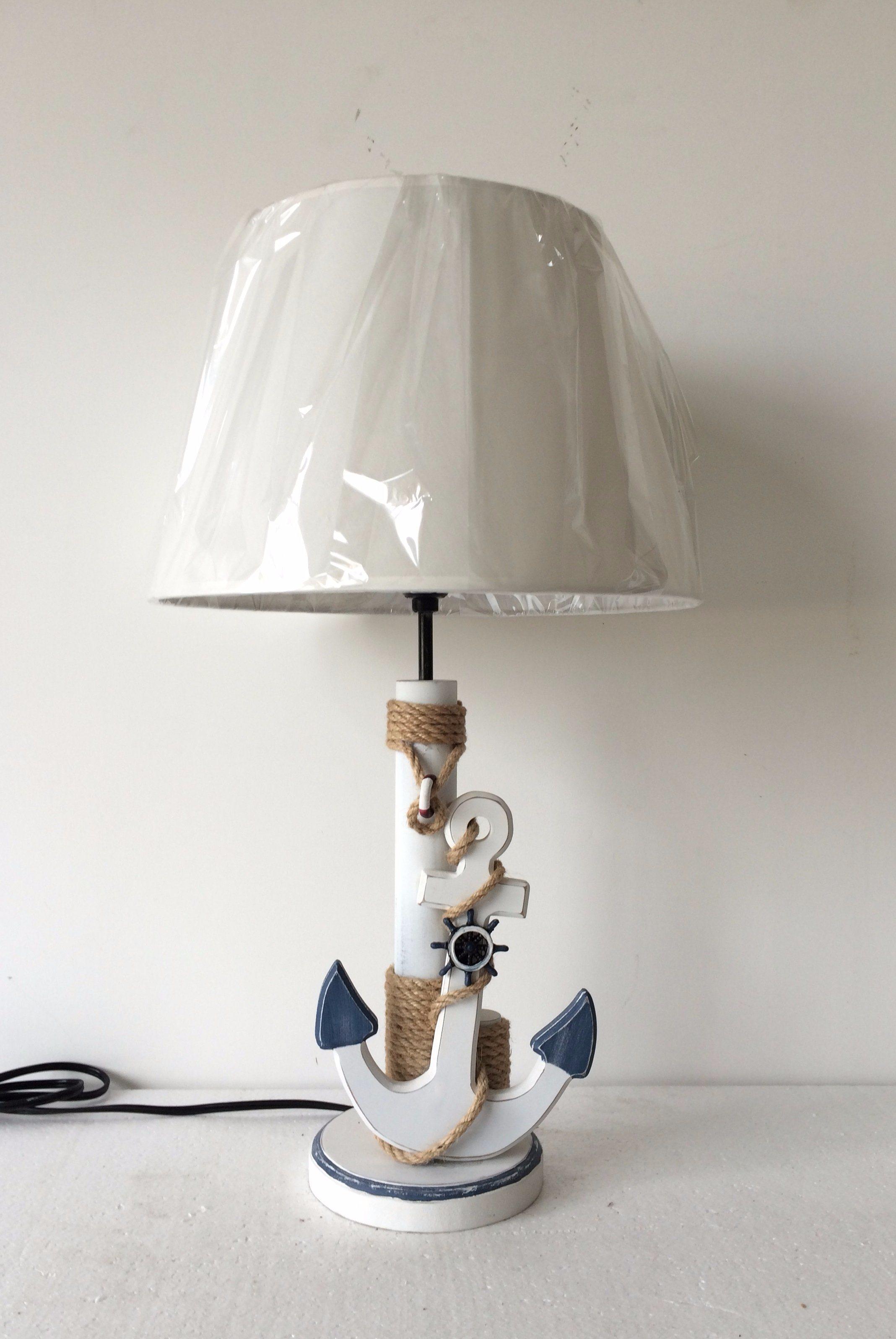 hot item jf naut anchor table lamp