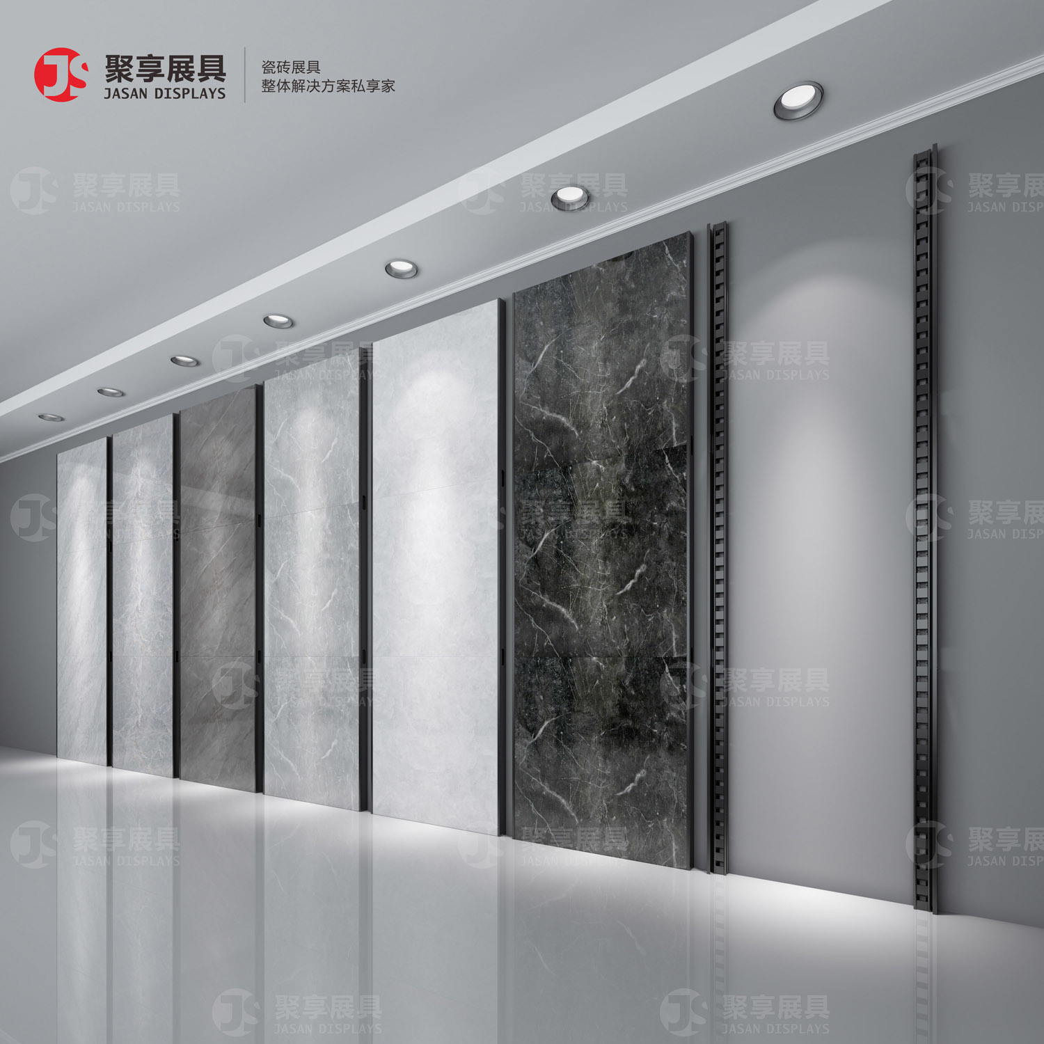 hot item jasan displays ceramic tile 600800 punching tube can adjust the wall stone sample hole plate display rack stand