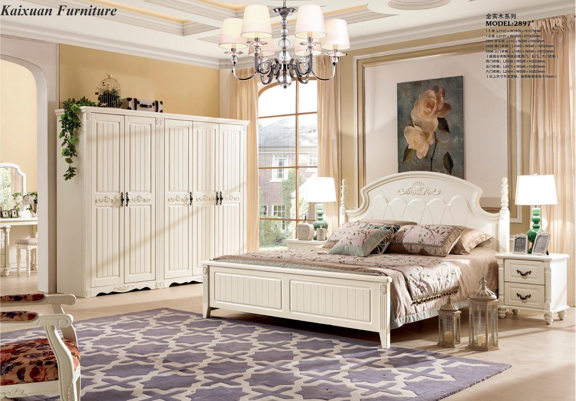china foshan antique solid wood bedroom