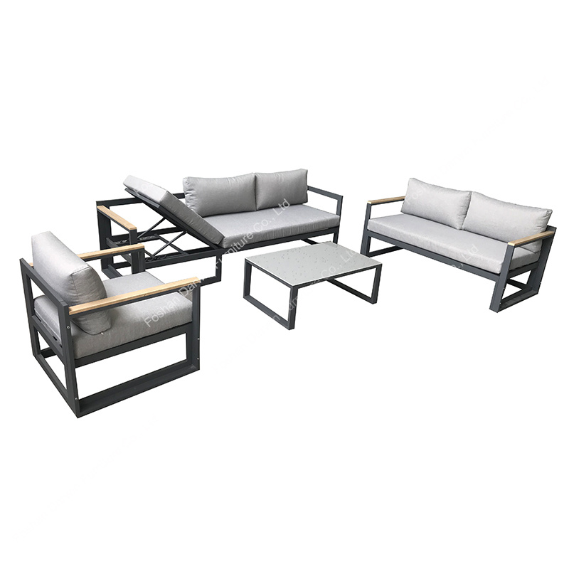 china functional outdoor sofa lounge