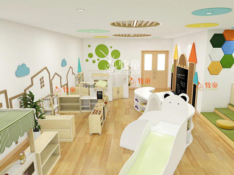 China Cowboy Cheap Kids Furniture Children Playground High Quality Cute Daycare Interior Design China School Furnitures Daycare Furniture