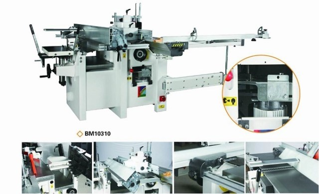 Combined Woodworking Machine (BM10310)